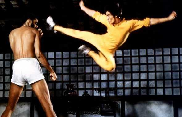 Bruce Lee salto