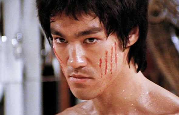 Bruce Lee viso
