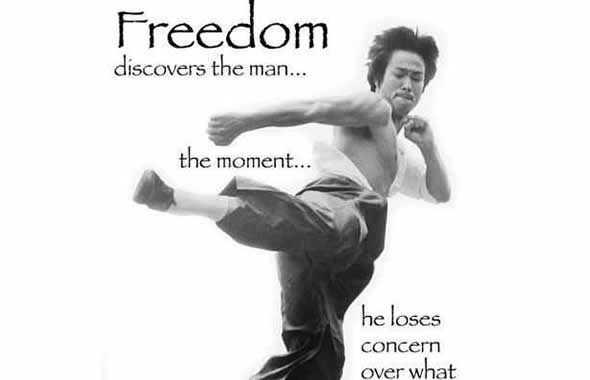bruce lee freedom