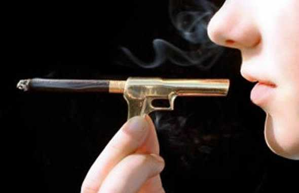 fumo pistola