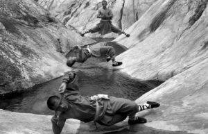 monaci shaolin montagna