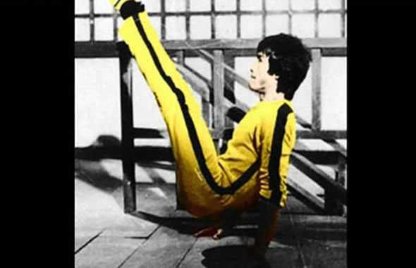 Bruce Lee allenamento