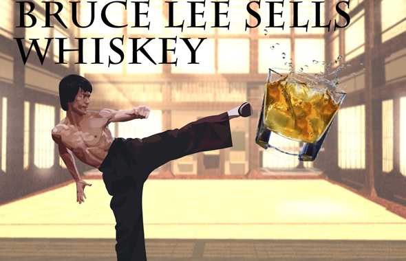 bruce lee whiskey