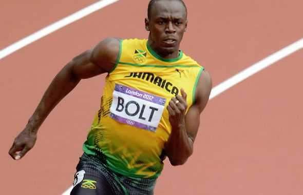 Usain Bolt corsa