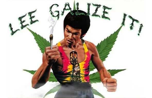 bruce lee marijuana