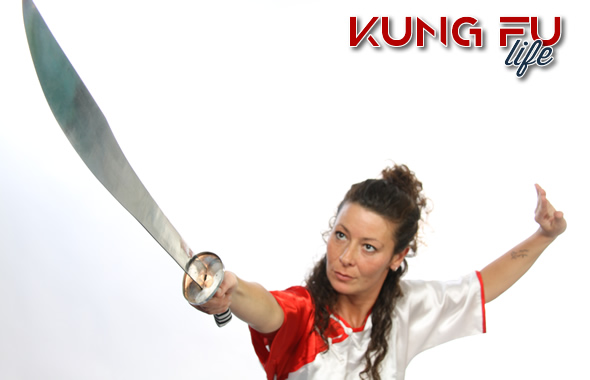 kung fu donna sciabola