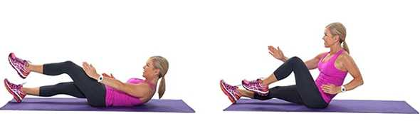 sprinter sit up movimento