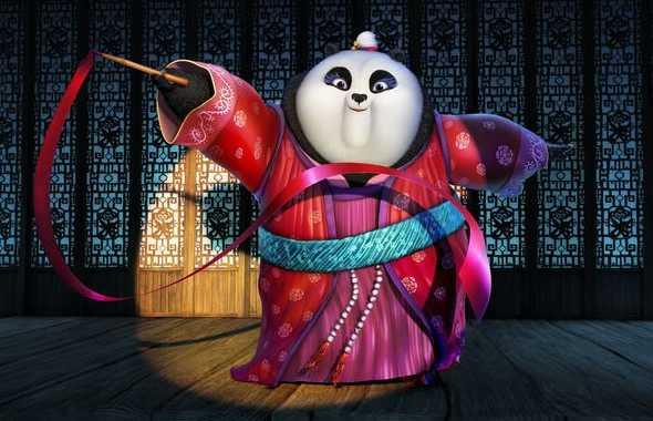 kung fu panda 3 girl