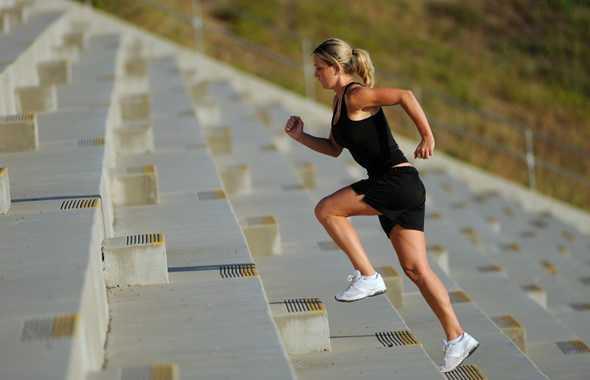 allenamento scale