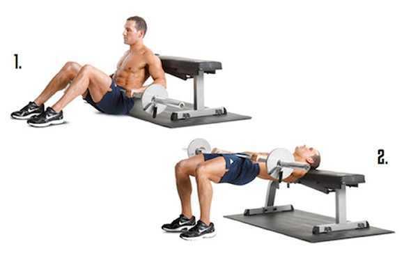 hip thrust esecuzione