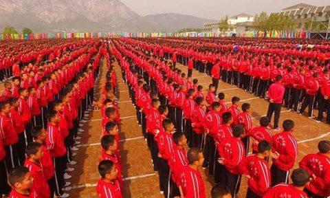 studenti cinesi dengfeng
