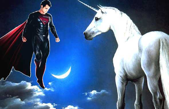 superman unicorno