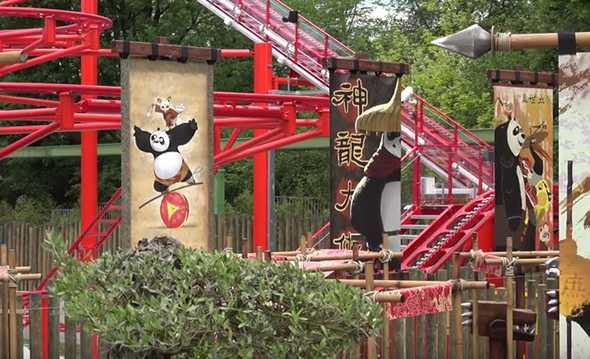 Kung Fu Panda Academy Gardaland