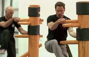 Robert Downey Jr wing chun