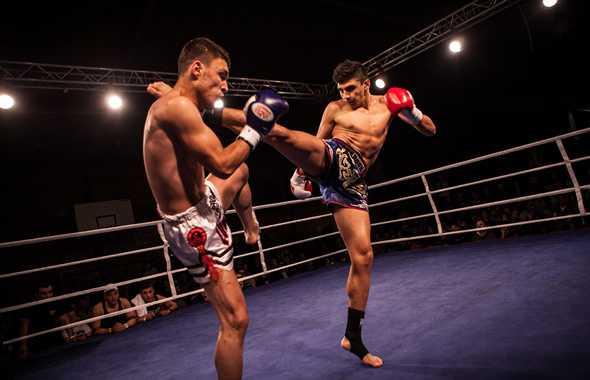 thai boxe incontro