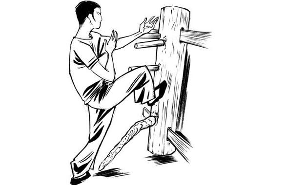 uomo di legno long wei