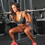 squat donna allenamento