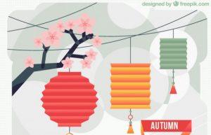 mese autunno lanterne