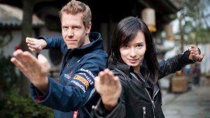 Sebastian Vettel e Celina Jade