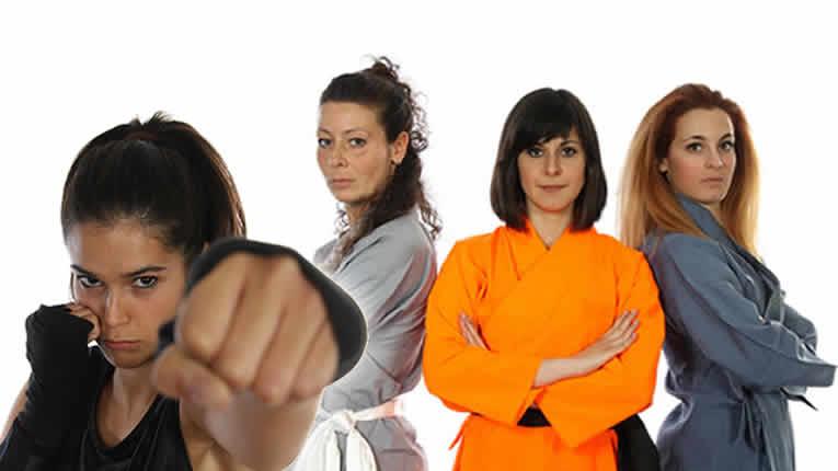 Kung Fu donne