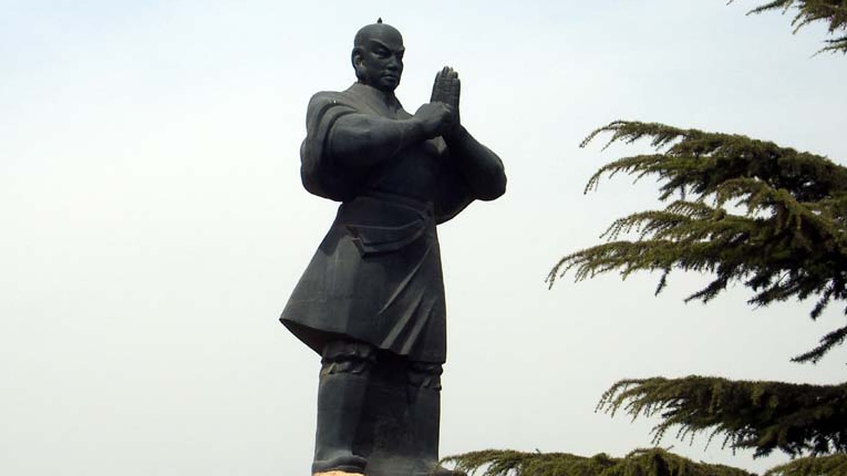 Kung Fu Shaolin tempio statua